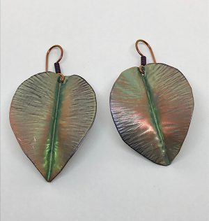 Niobium Rainforest Leaves 2